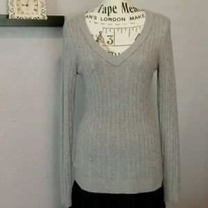 Ann Taylor Loft angora blend sweater
